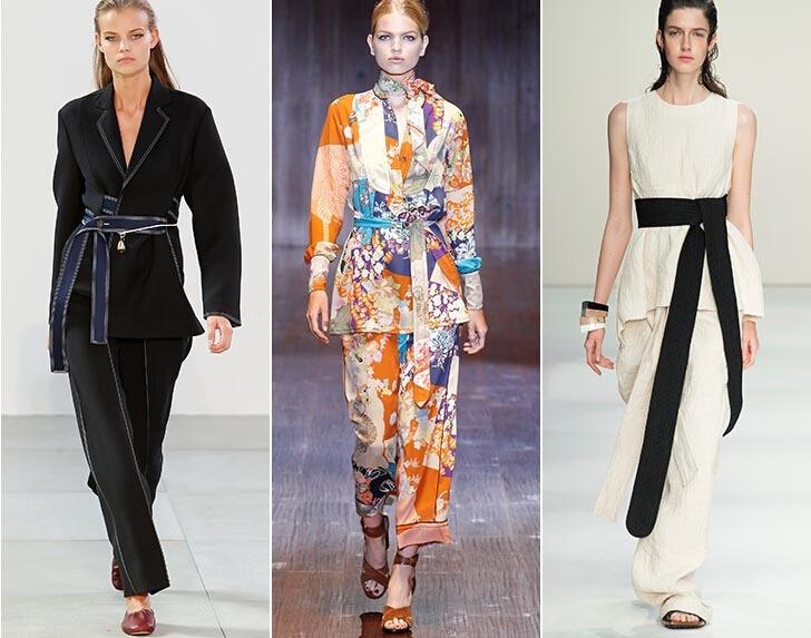 Inspiracje kimono wśród projektantów marek Céline, Gucci i Marni