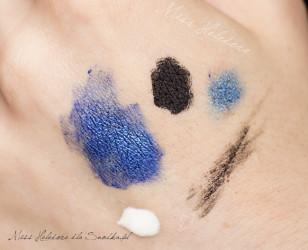 Wszelkie mieszanki kolorów najlepiej wykonywać na wierzchu dłoni - wówczas widać jaki będą miały kolor na skórze.