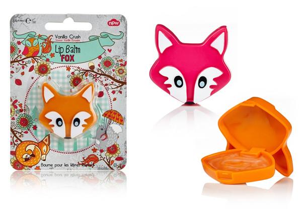Fox lip balm, nawilżający balsam do ust – lisek (Cena: 11 zł, 1,5 g)