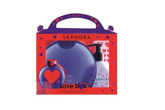 Walentynkowa kolekcja Sephory. Zestaw kąpielowy