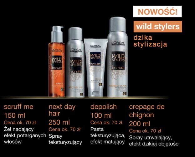Linia tygodnia: Wild Stylers L Or al Professionnel