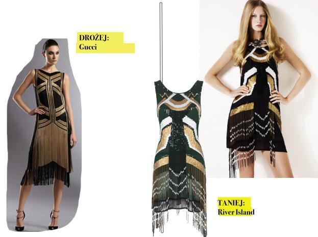 f6ad91165f Drożej taniej  sukienka Gucci w stylu lat 20. - SNOBKA