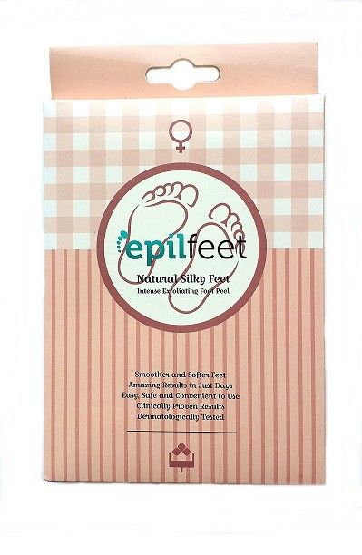 Złuszczająca maska do stóp EpilFeet