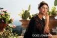 Bianca Balti w okularach Dolce & Gabbana, kolekcja wiosna-lato 2014, fot. Domenico Dolce