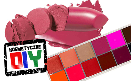 Zrób to sama  Kosmetyczne DIY: paleta pomadek