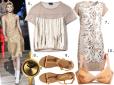 Moda z wybiegów złoto