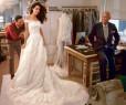 Suknia ślubna Amal Clooney w przyszłorocznej kolekcji Oscara de la Renty
