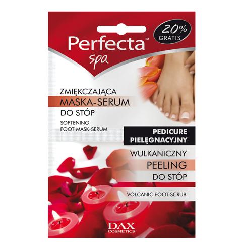 Dax, Pefecta SPA, wulkaniczny peeling + zmiękczająca maska-serum do stóp (Cena: 3 zł)
