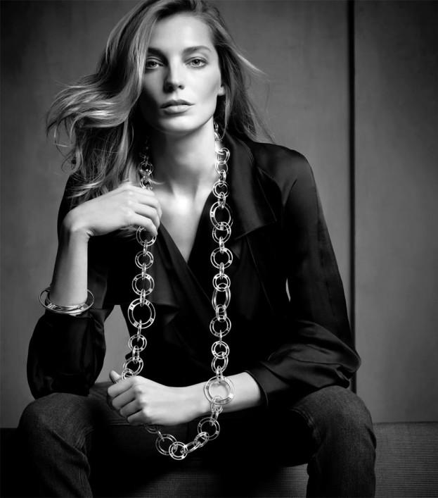Daria Werbowy dla Tiffany & Co.
