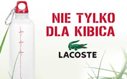 Promocja: sportowa butelka Lacoste w prezencie