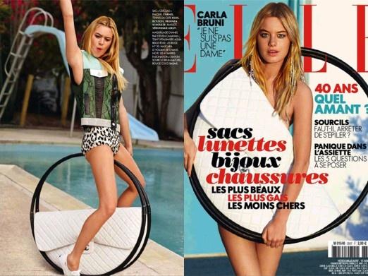 Elle Francja, marzec 2013