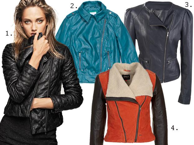 Kupujemy: krótką, skórzaną kurtkę