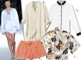Moda z wybiegów: piżama