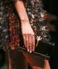 Pierścionki typu stacking ring z pokazu Valentino
