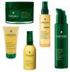 Rene Furterer, Karite, olejek intensywnie odżywiający do bardzo suchej skóry głowy i włosów (Cena: 116 zł,100 ml), szampon odżywczy do bardzo suchej skóry głowy i zniszczonych włosów (Cena: 70 zł, 150 ml), maska intensywnie regenerująca  włosy suche i zniszczone  (Cena: 153 zł, 200 ml), koncentrat odżywczo-regenerujący do włosów suchych i zniszczonych, bez spłukiwania (Cena: 69 zł, 100 ml), serum S.O.S na zniszczone i rozdwojone końcówki, bez spłukiwania (Cena: 113 zł, 30 ml)