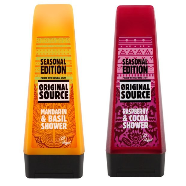 Kosmetyk tygodnia: Original Source Raspberry and Cocoa i Mandarin and Basil