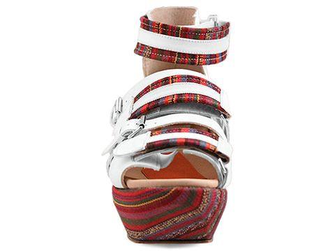 Białe buty B Store - Edwige