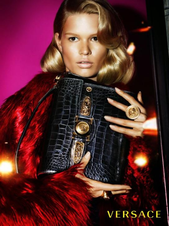 Versace jesień-zima 2014/2015, fot. Mert Alas & Marcus Piggott