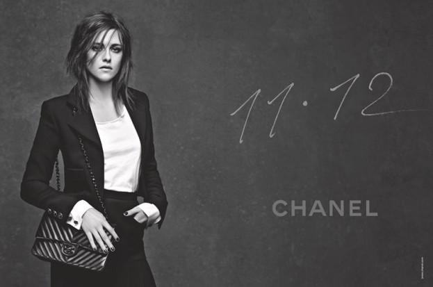 Kristen Stewart w kampanii torebek Chanel wiosna-lato 2015