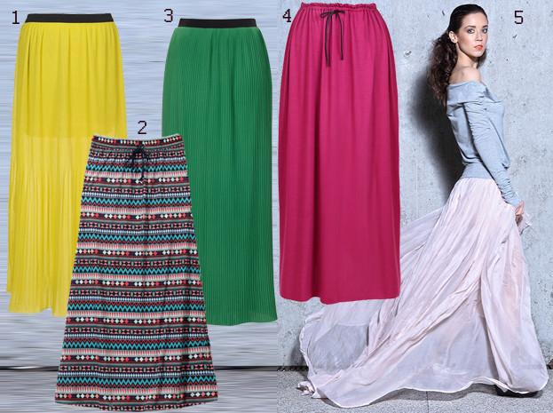 Kupujemy: spódnice maxi