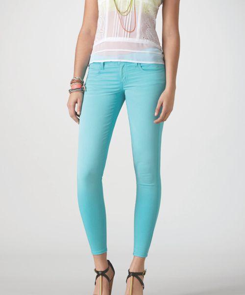Dżins na wiosnę 2013. Spodnie dżinsowe, American Eagle Outfitters