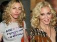makijaż gwiazd, bez makijażu, gwiazdy bez makijażu, gwiazdy bez photoshopa, brzydkie gwiazdy, celebrytki bez makijażu ,Madonna