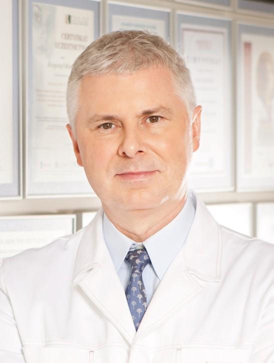 Dr Krzysztof Miracki, właściciel BeautymeD Aesthetic Clinic Miracki w Warszawie