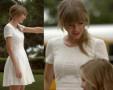 W stylu gwiazdy: Taylor Swift w sukience French Connection