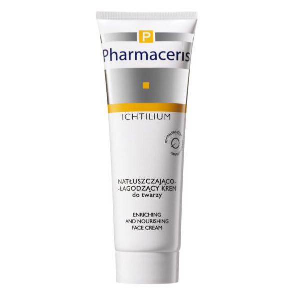 8.Pharmaceris, Ichtilium, natłuszczająco-łagodzący krem do twarzy (Cena: 39,90 zł, 50 ml)