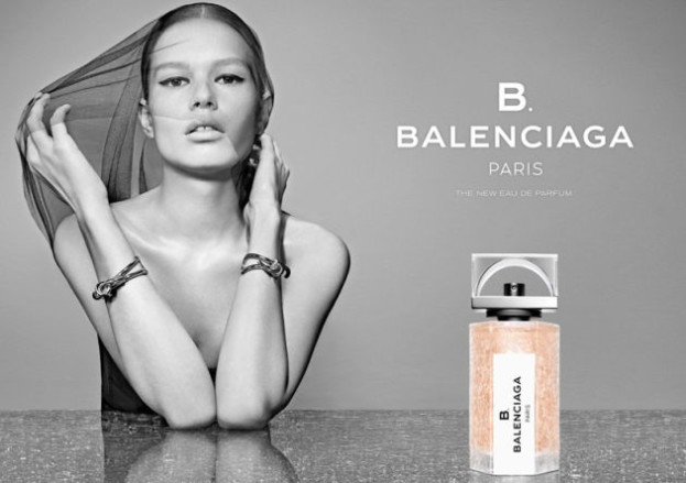 B Balenciaga - pierwszy zapach Alexander Wang dla Balenciaga, modelka: Anna Ewers fot. Steven Klein