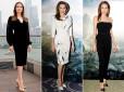 Angelina Jolie w pantoflach Malangeli Christian Louboutin