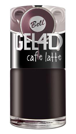 GEL 4D Caffe Latte – czerń dla wielbicieli espresso