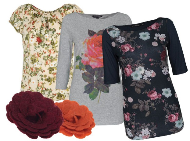 Top Secret: kwiecista kolekcja jesień zima