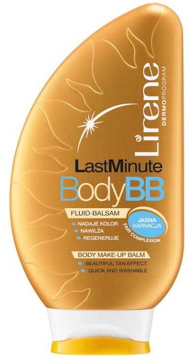 Fluid do ciała Last Minute Body BB, Lirene, 25 zł;