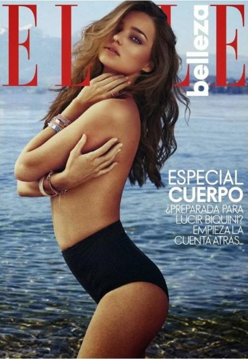 Miranda Kerr dla hiszpańskiego Elle