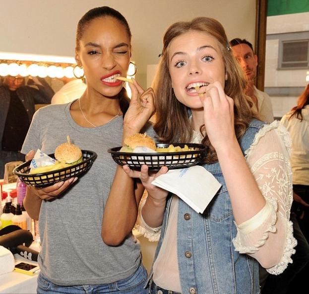 Co jedzą modelki