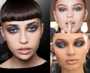 Cieniowanie różni się na każdej modelce, bo jest dostosowane do kształtu oka. Niektóre z nich mają brąz przeciągnięty na skronie, jeśli więc chcecie mocniejszy akcent, zróbcie  to samo!