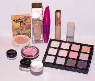 Użyte kosmetyki