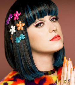 Oryginalny makijaż Katy Perry.