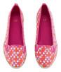 H&M - buty w ciepłym kolorze wiśni