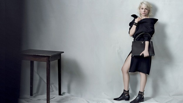 Michelle Williams w czwartej kampanii dla Louis Vuitton, fot. Peter Lindbergh