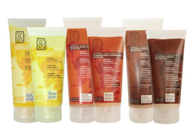 Naturalna pielęgnacja koloru włosów z Pat & Rub