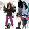 Trudny trend: elegancka na śniegu