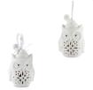 Porcelanowe sówki, Pierrot Home Design, MileMaison.pl, 66,00 zł za sześć sztuk