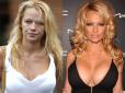 makijaż gwiazd, bez makijażu, gwiazdy bez makijażu, gwiazdy bez photoshopa, brzydkie gwiazdy, celebrytki bez makijażu ,Pamela Anderson