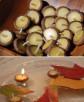 Etsy, pływające świeczki z żołędzi