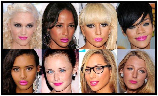 Zamienniki kosmetyczne: neonowy róż na ustach