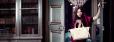 Alexa Chung z torebką Le Pliage Héritage, kampania Longchamp jesień 2014