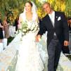 Ślubne bukiety gwiazd. Jennifer Lopez
