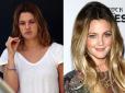 makijaż gwiazd, bez makijażu, gwiazdy bez makijażu, gwiazdy bez photoshopa, brzydkie gwiazdy, celebrytki bez makijażu ,Drew Barrymore